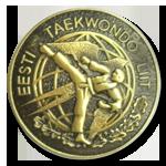 Значок Эстонского Союза Таэквондо