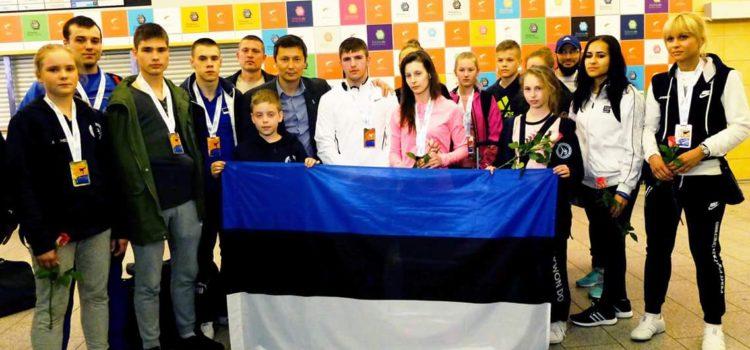 Сборная Эстонии по Таэквон-До в десятке сильнейших команд Европы!