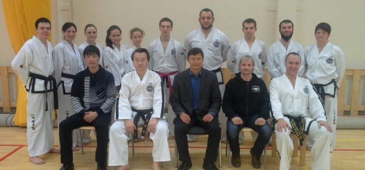 Esimene rahvusvaheline Taekwon-do seminar Eestis (ITF)