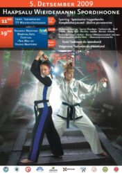 5-ого декабря в Хаапсалу в спорткомплексе Виедеманни прошёл традиционный фестиваль боевых искусств. Впервые это мероприятие прошло за пределами Таллинна. На фестивале своё мастерство продемострировали мастера Исторического Фехтования, Айкидо, Муай Тай, Спорт Чанбара, Таэквондо и Реального Айкидо.