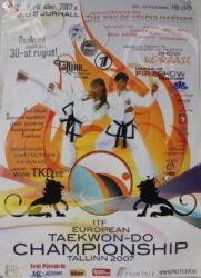 19.-21. oktoobril toimusid Tallinnas Saku Suurhallis Euroopa Taekwondo Meistrivõistlused (ITF). Osalejaid oli enam kui 30-st riigist. See oli esimene suur Taekwondo turniir Eesti Taekwondo Liidu jaoks, mis sai korraldatud nii kõrgel tasemel.