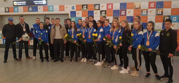 Эстонская сборная завоевала 2 золотые медали на Чемпионате Европы по тхэквондо