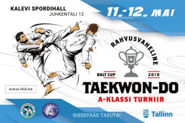 """11.-12.mail toimus pealinna Kalevi spordihallis iga-aastane rahvusvaheline turniir taekwondos BaltCup-2019. Sellel aastal on turniirile määratud turniiride kõrgeim auaste Taekwondo ITF gradatsioonis – """"A klass"""". Kahe päeva jooksul võistlesid kuuel matil ligi 300 sportlast Venemaalt,Valgevenest, Lätist, Soomest ja Eestist parimate tiitli eest Baltikumis."""