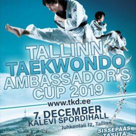 III Кубок Посла Южной Кореи в Эстонии по Taekwondo WT в Прибалтике, Tallinn, 2019
