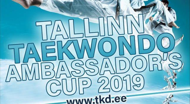 III Lõuna-Korea suursaadiku karikaturniir taekwondos WT (Tallinn, 2019)