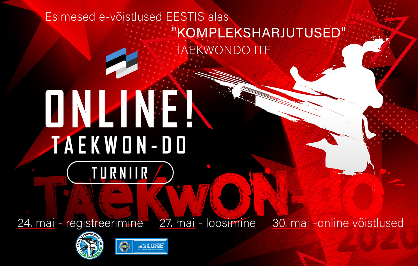 Online Taekwon-do Turniir