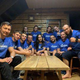 Taekwondo laager maalilises Lõuna- Eesti kohas