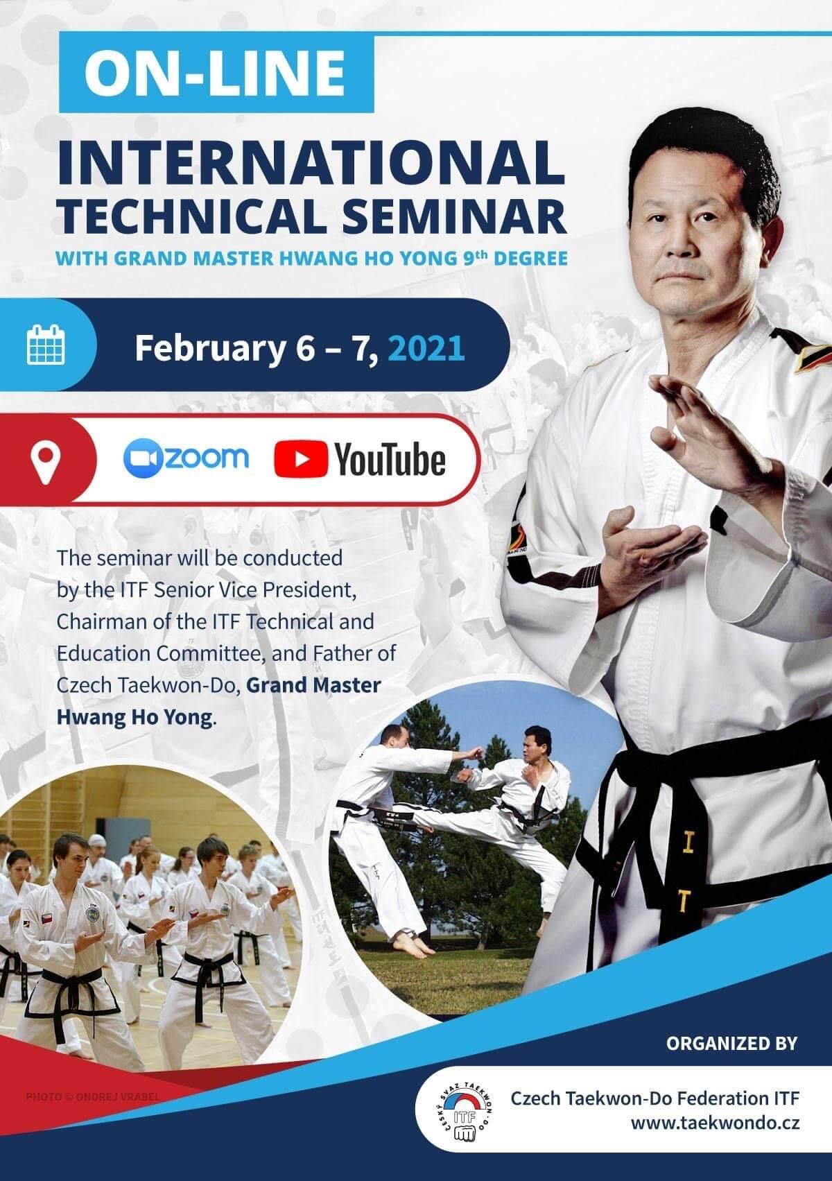 Technical Seminar with Grand Master Hwang Ho Yong 9th Degree