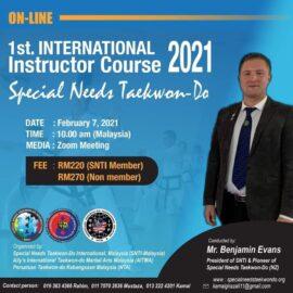 Esimene rahvusvaheline seminar instruktoritele, kus käsitleti erivajadustega lastega tööd