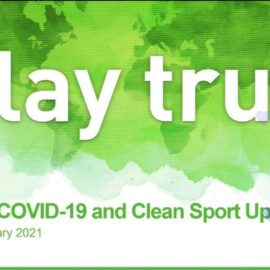 """2021 COVID-19 and Clean Sport Update» webinar"